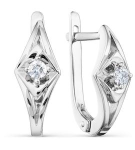 Серьги с бриллиантами Т301021765