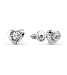 Серьги с бриллиантами Т301021767