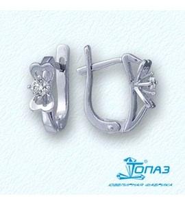 Серьги с бриллиантами Т301021770