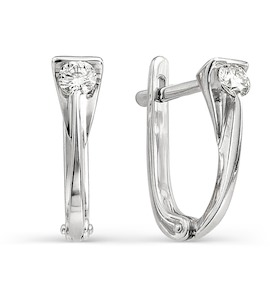 Серьги с бриллиантами Т301021771