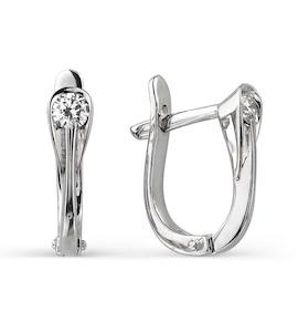 Серьги с бриллиантами Т301021772