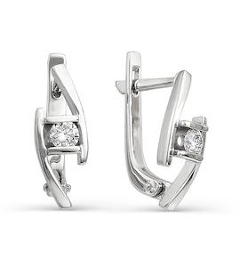 Серьги с бриллиантами Т301021780