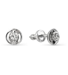 Серьги с бриллиантами Т301021783