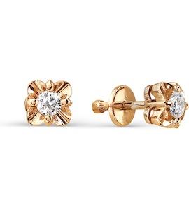 Серьги с бриллиантами Т301021786
