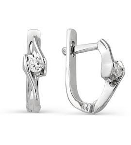 Серьги с бриллиантами Т301021788
