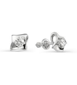 Серьги с бриллиантами Т301021790