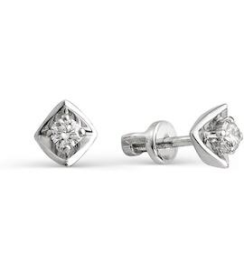 Серьги с бриллиантами Т301021792