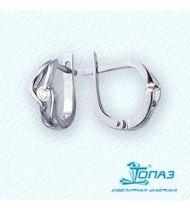 Серьги с бриллиантами Т301021801