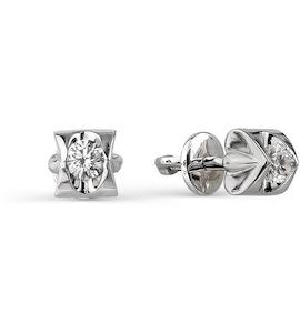 Серьги с бриллиантами Т301021805