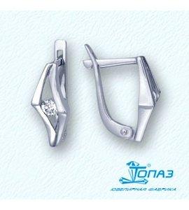 Серьги с бриллиантами Т301021878