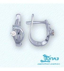 Серьги с бриллиантами Т301021937