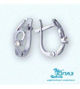 Серьги с бриллиантами Т301021938