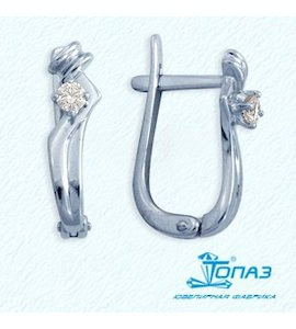 Серьги с бриллиантами Т301021949