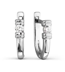 Серьги с бриллиантами Т301026731