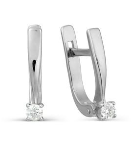 Серьги с бриллиантами Т301027726-5