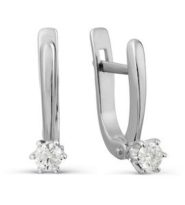 Серьги с бриллиантами Т301027728