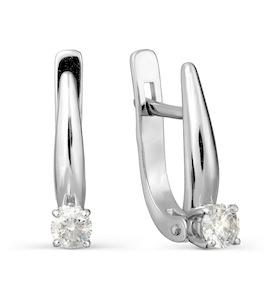 Серьги с бриллиантами Т301027729-3