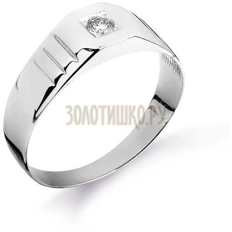 Кольцо с бриллиантом Т301044867