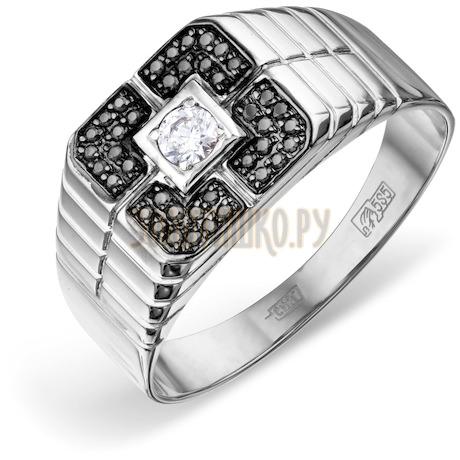 Кольцо с бриллиантами и Swarovski Zirconia Т301046684