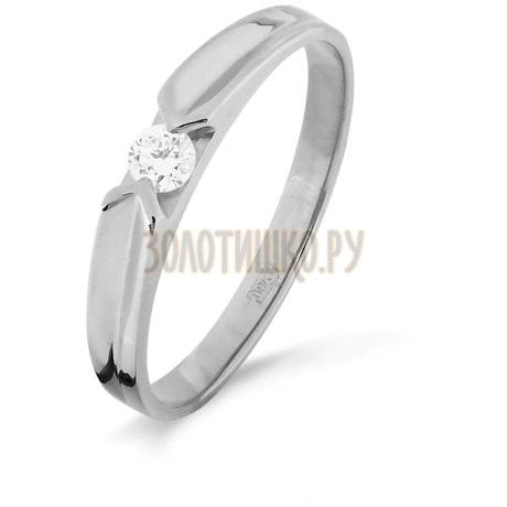 Кольцо с бриллиантом Т301516333