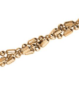 Шарик+бочка косичка из 3-х цепочек с алмазной гранью d 1,50
