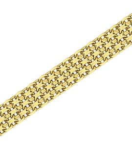 Бисмарк двойная с алмазной гранью d 0,35