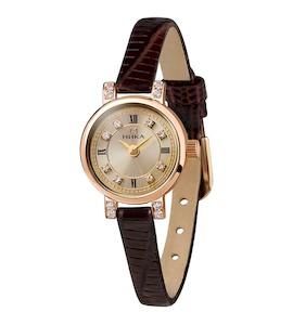 Золотые женские часы VIVA 0313.2.1.47H