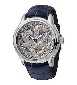 Серебряные мужские часы НИКА EXCLUSIVE 1102.0.9.125