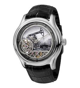 Серебряные мужские часы НИКА EXCLUSIVE 1102.0.9.45
