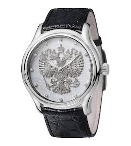 Серебряные мужские часы НИКА EXCLUSIVE 1102.1.9.72C