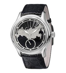 Серебряные мужские часы НИКА EXCLUSIVE 1102.1.9.74A