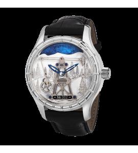 Серебряные мужские часы НИКА EXCLUSIVE 1165.0.9.01S