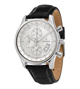 Серебряные мужские часы GENTLEMAN 1876.0.9.22C
