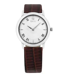 Серебряные женские часы QWILL 6050.01.04.9.11A