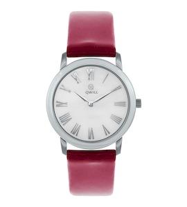 Серебряные женские часы QWILL 6050.01.04.9.31A
