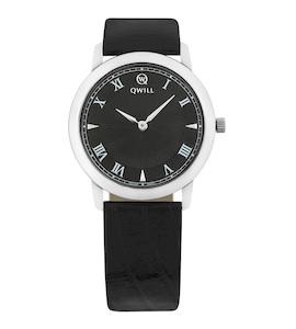 Серебряные женские часы QWILL 6050.01.04.9.51A