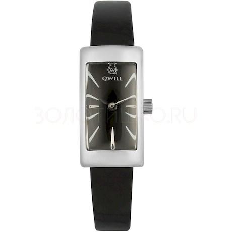 Серебряные женские часы QWILL 6052.00.00.9.55A