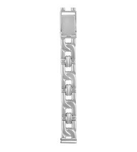 Серебряный браслет для часов (10 мм) 020224