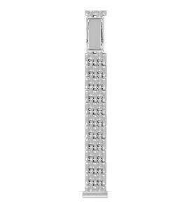 Серебряный браслет для часов (12 мм) 030011