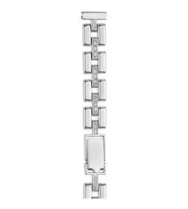 Серебряный браслет для часов (12 мм) 036580