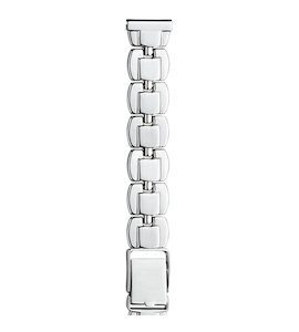 Серебряный браслет для часов (14 мм) 040243