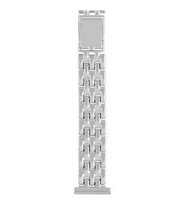 Серебряный браслет для часов (18 мм) 080220