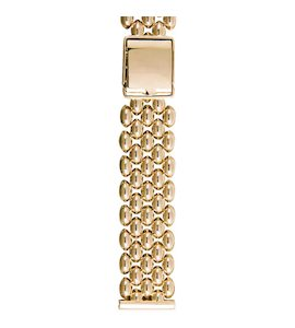 Золотой браслет для часов (20 мм) 113