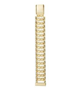 Золотой браслет для часов (12 мм) 13013