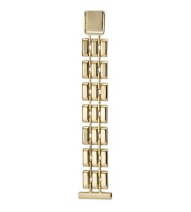 Золотой браслет для часов (16 мм) 16186