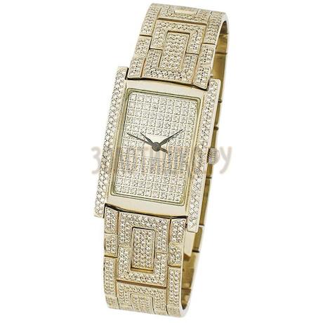 Золотые часы с бриллиантами 30241.154