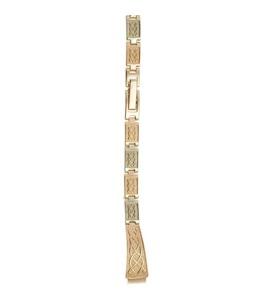 Золотой браслет для часов (8 мм) 3105012