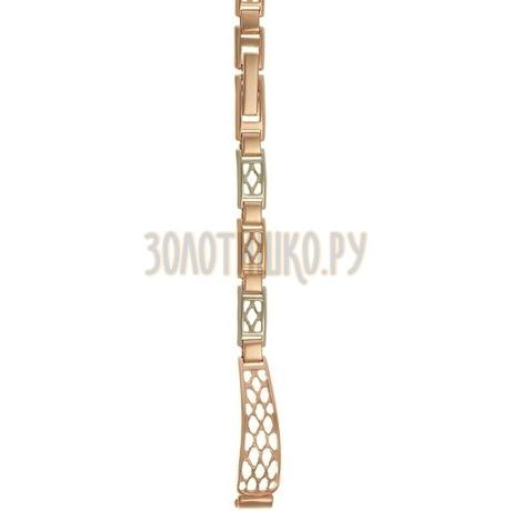 Золотой браслет для часов (8 мм) 3105015