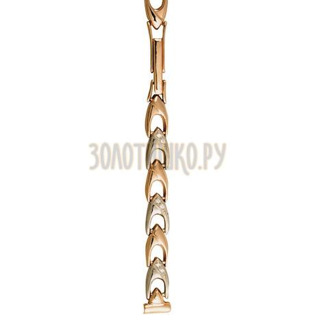 Золотой браслет для часов (8 мм) 3115001