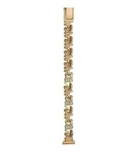 Золотой браслет для часов (8 мм) 316019